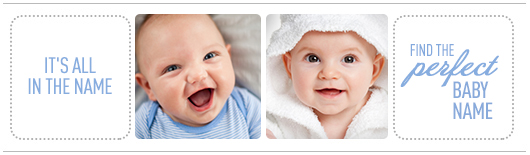 Baby name database banner | Sheknows.com