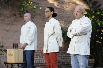 Top Chef has its final three