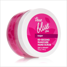 True Blue Spa 60-Second Manicure Hand Scrub