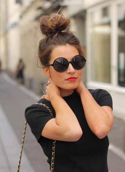 Rock a top knot!