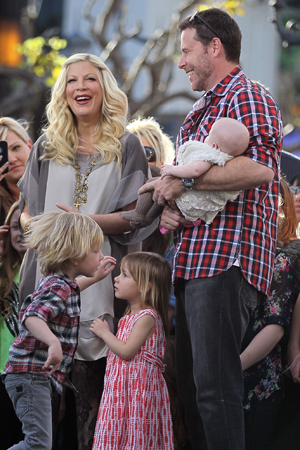 Tori Spelling: new baby, book and show!