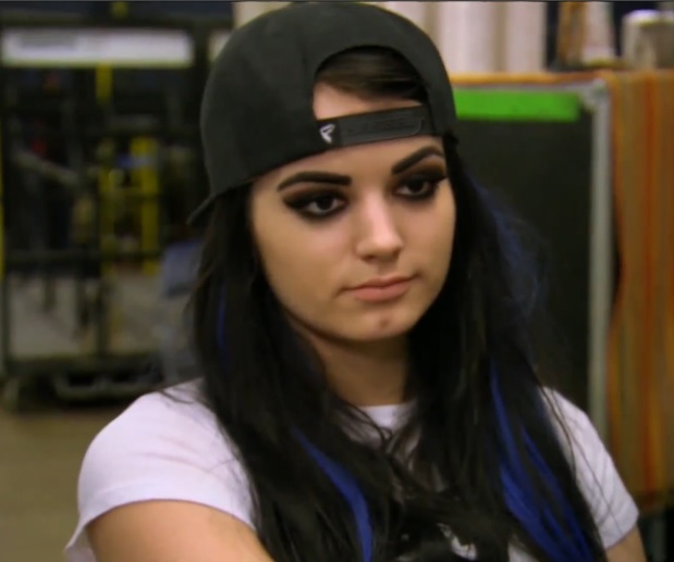 Total Divas Paige is unimpressed