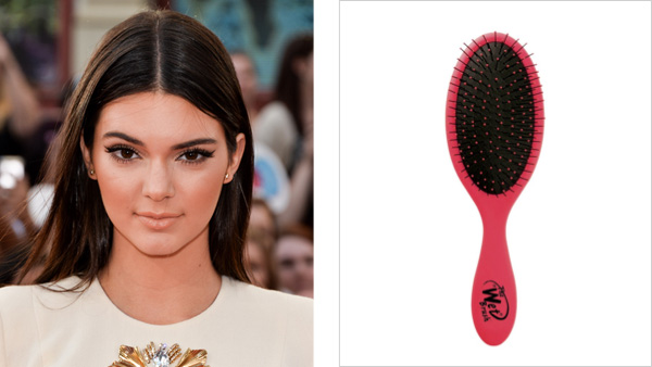 Kendall Jenner shared her obsession with her pink Wet Brush