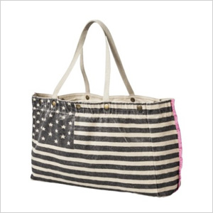 American Flag tote from Target