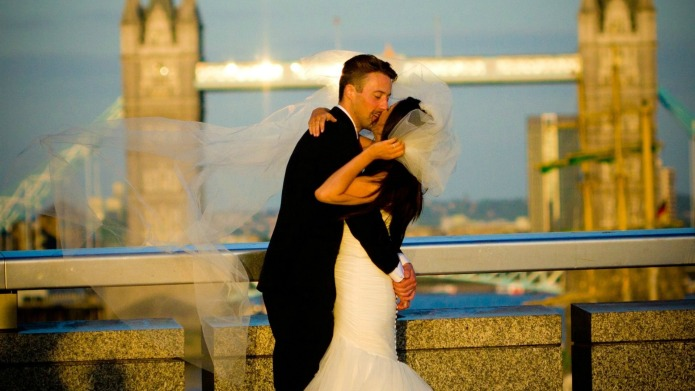 Whole world searches for newlyweds to