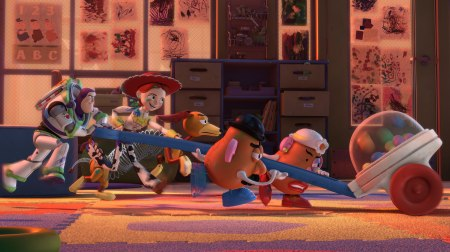Buzz leads the pack in Toy Story 3
