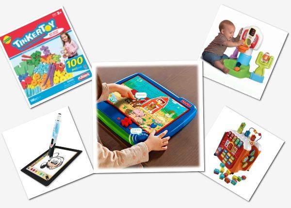 Toddler toys that teach hand-eye coordination