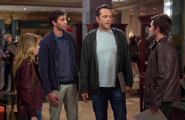 Vince Vaughn becomes an insta-dad in