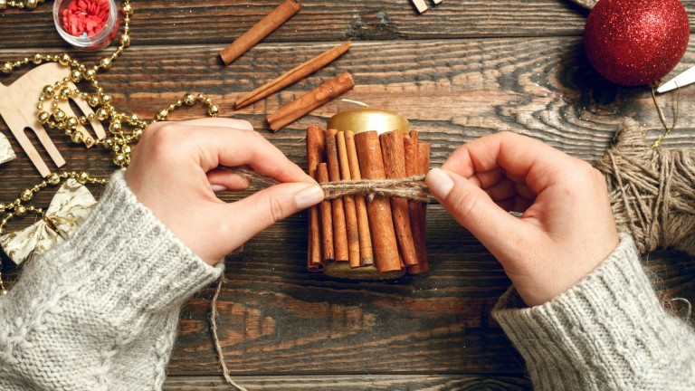 Cinnamon Stick Candles | Homesteader's Ultimate Guide For Christmas: Gift Ideas This Year