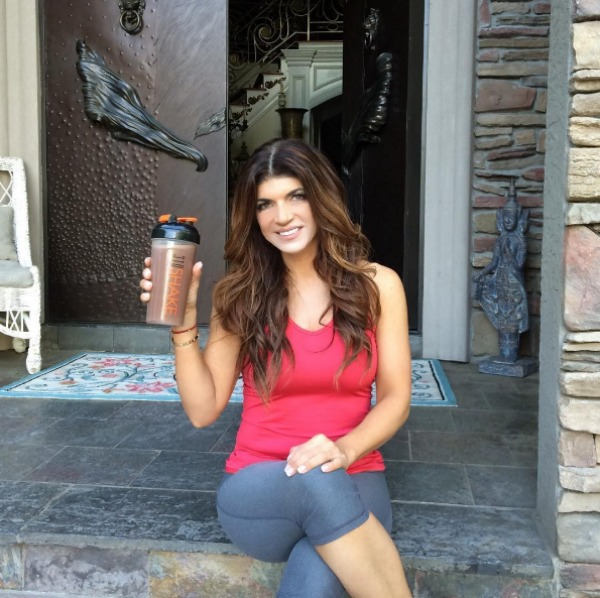 Teresa Giudice promoting 310 nutrition