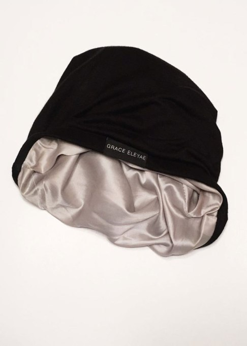 Pointers for Flawless Hair Post-Workout | Grace Eleyae Satin Cap