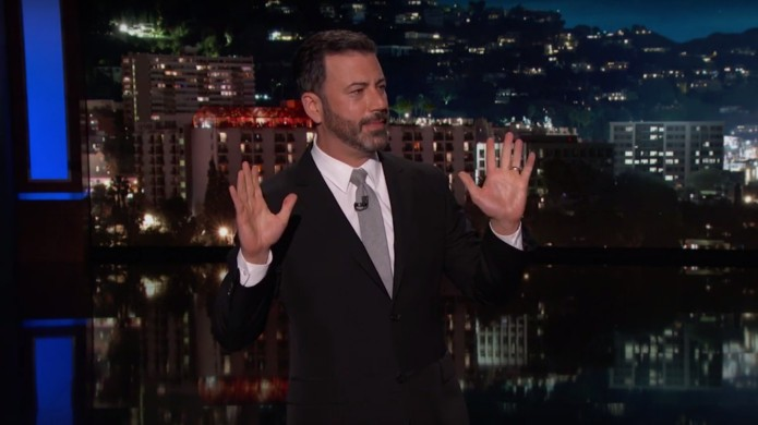 After Las Vegas, Jimmy Kimmel Uses