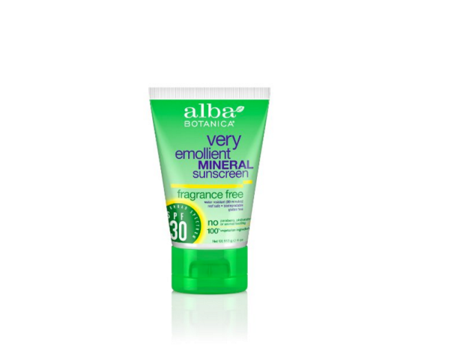 Alba Organic sunscreen