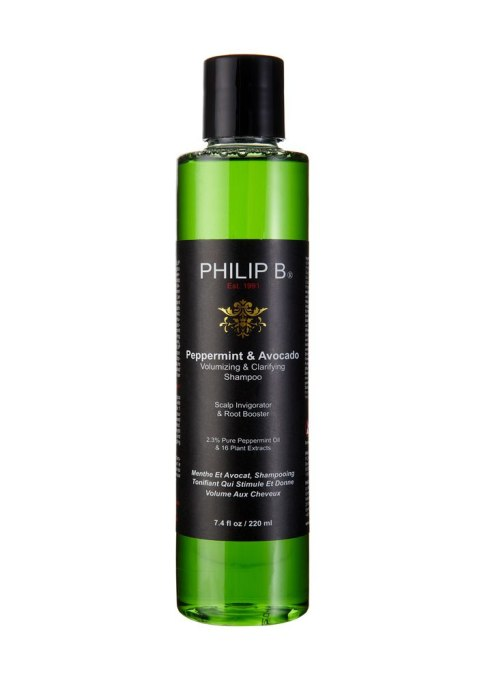 Philip B. Peppermint and Avocado Volumizing Clarifying Shampoo