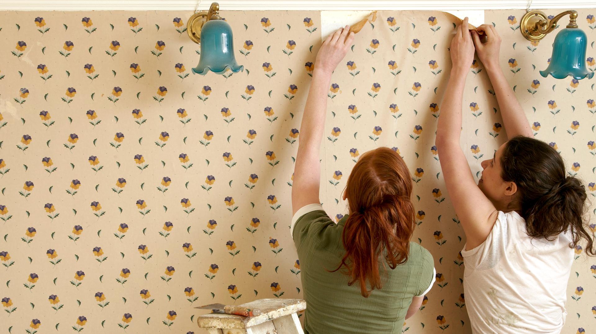 Wallpaper Removal Hacks That Make A Tough Job Easier SheKnows