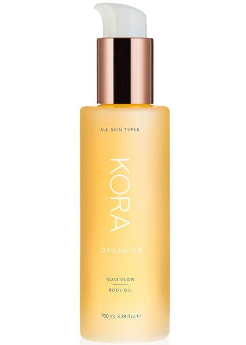Body Oils To Layer Over Your Lotion: Kora Organics Noni Glow Body Oil | Fall Skin Care