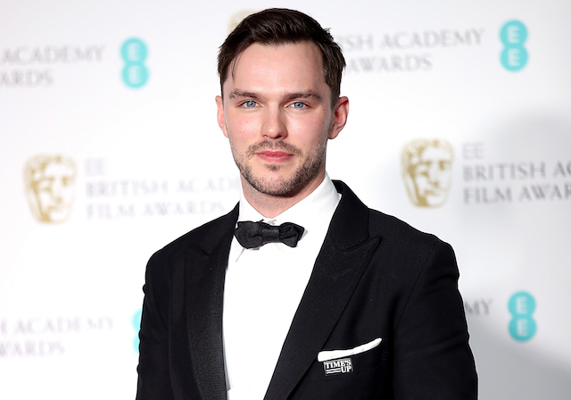 Nicholas Hoult in the press room during the EE British Academy Film Awards