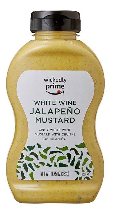 Wickedly Prime Mustard, White Wine Jalapeño