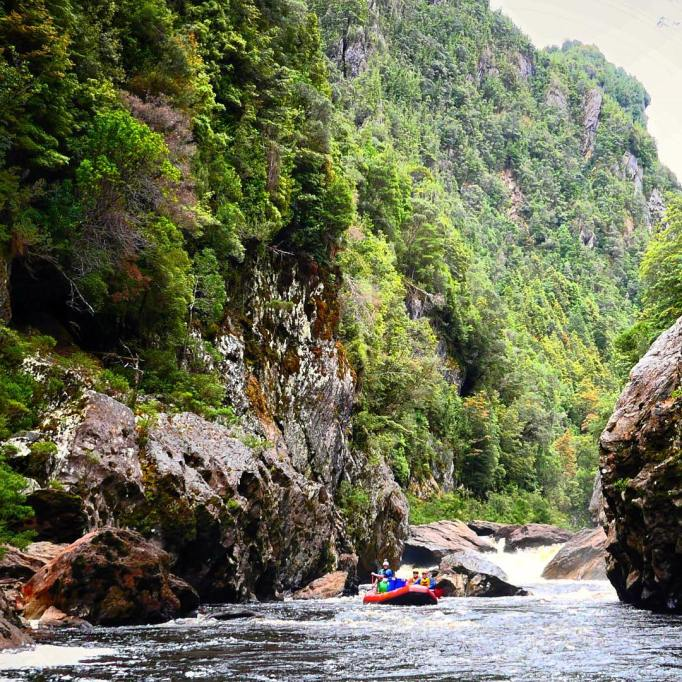 Beautiful Adventure Destinations: Rafting The Franklin River In Tasmania