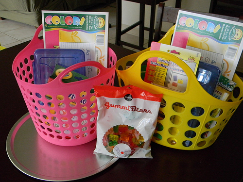 Travel baskets for kids