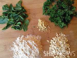 Homemade doggie breath mints ingredients