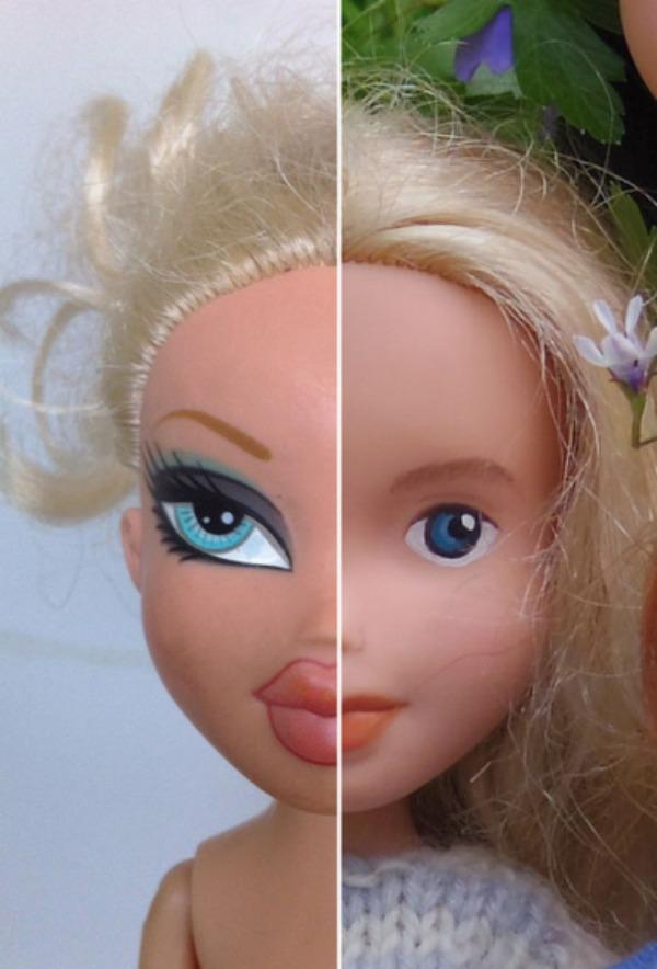 Bratz dolls get incredible makeunders by Tree Change Dolls artist in Tasmania