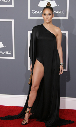 J. Lo at the 2013 Grammys