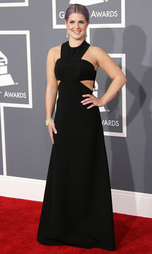 Kelly Osbourne at the 2013 Grammys