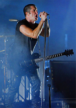 On Monday, the minimalist nin.com main page contained a single post, entitled