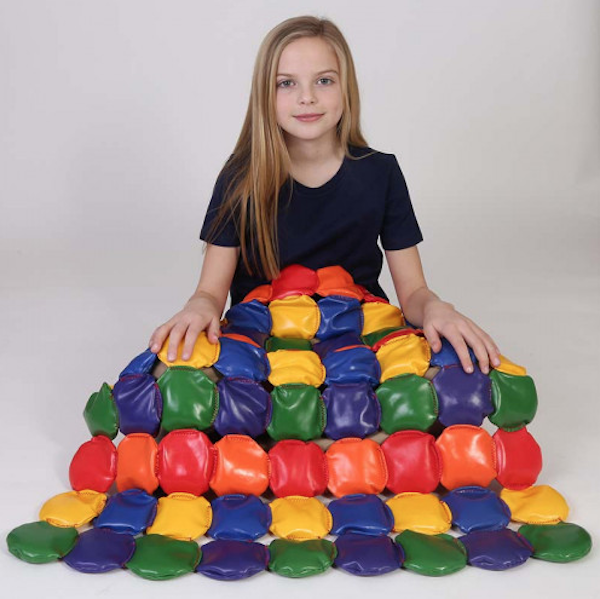 Gifts for kids with autism: Weighted Disc Blanket