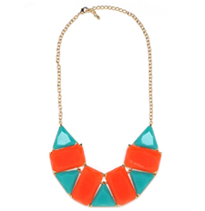 Tribal Mosaic Necklace