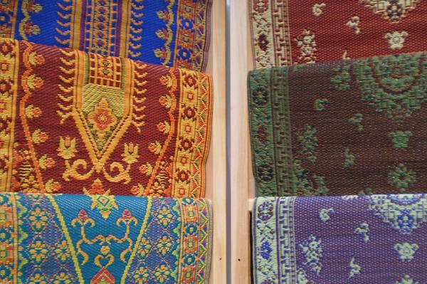 Tribal print rugs