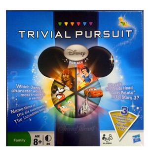 trivial pursuit disney for all