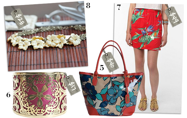 Tropical inspired fashion