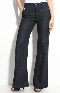 Splurge-worthy: Vince stretch denim trousers ($225 at Nordstrom)