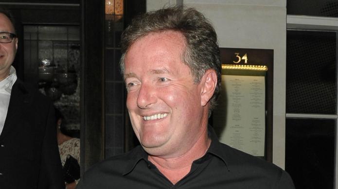 Piers Morgan tweets his departure from
