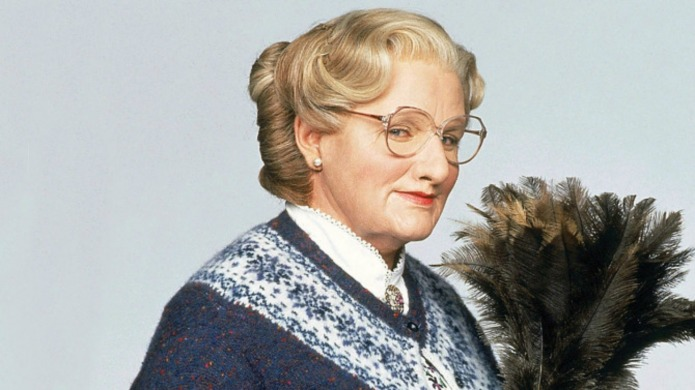 Robin Williams' Mrs. Doubtfire deleted scenes