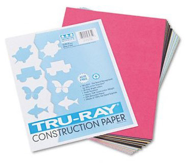 Riverside Paper Tru-Ray® Recycled Construction Paper