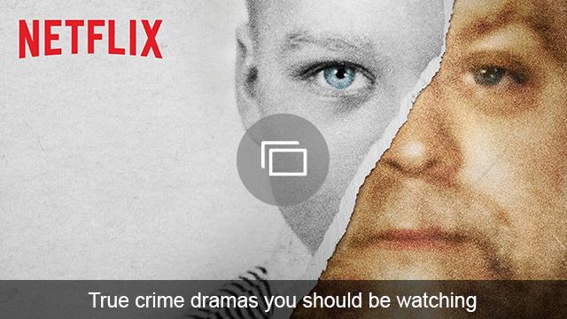 True crime shows slideshow