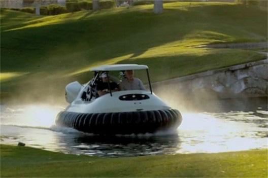 Bubba Watson Hovercraft Golf Cart