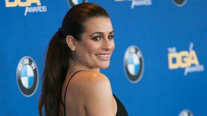 Lea Michele honors Cory Monteith as