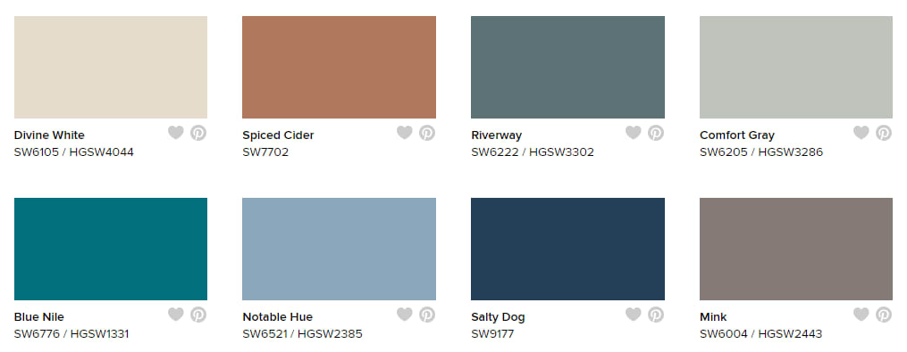 Sherwin-Williams Next Journey Color Collection