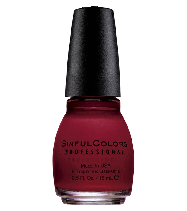 Coolest Nail Colors to Try This Fall: Sinful Colors Professional Nail Color in Aubergine | Fall Style Trend 2017