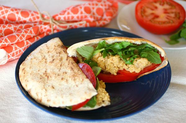 Chickpea sandwich spread