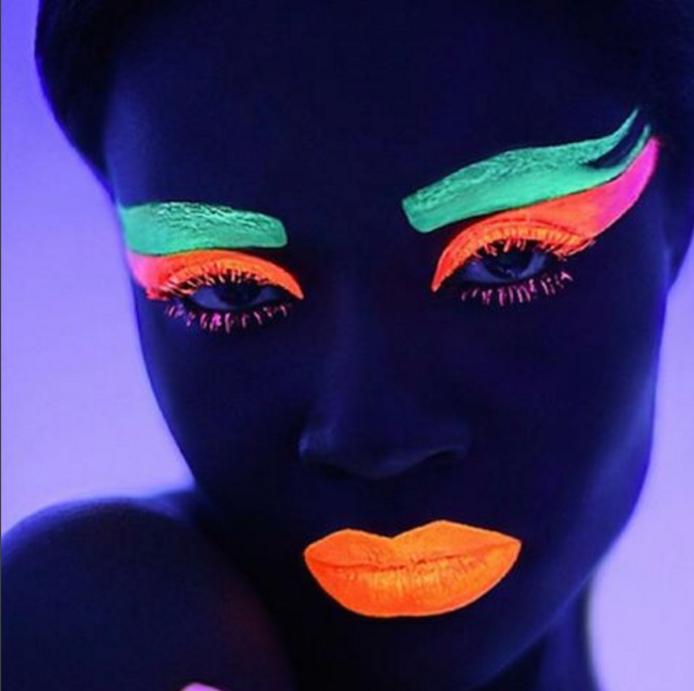 11 Glow-in-the-dark makeup looks that will
