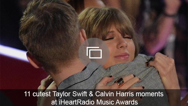 Taylor Swift Calvin Harris iHeartRadio Awards slideshow