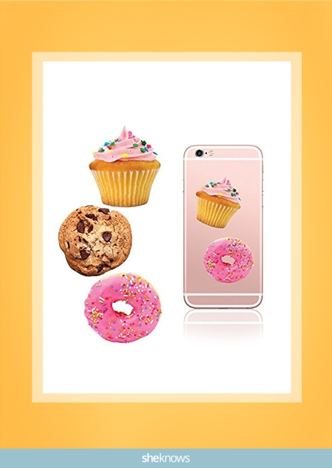 iDecoz dessert reusable vinyl decal sticker sheet