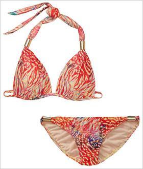 Steal vs. splurge swimwear: Boho glam