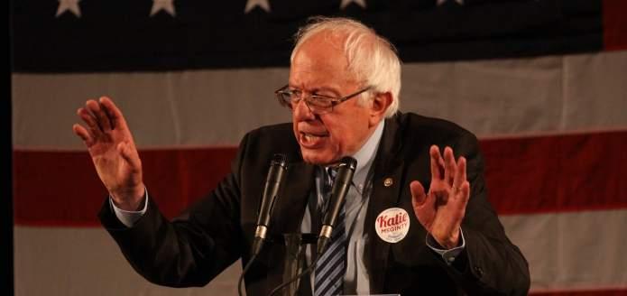 Bernie Sanders delivers heartfelt plea as