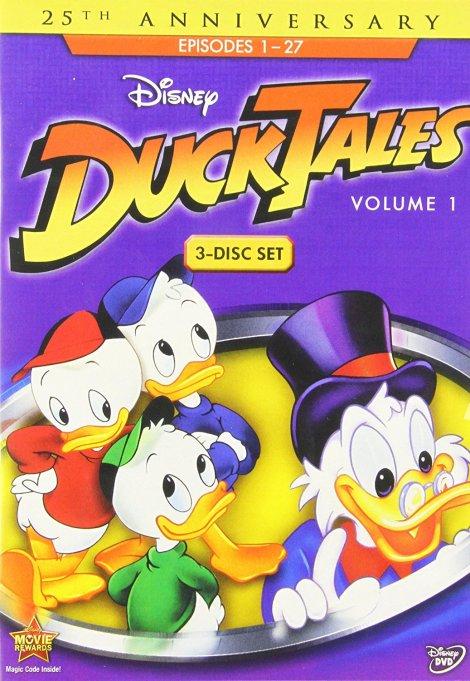 'Duck Tales' DVD art